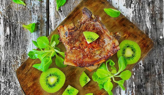 Эскалоп в соусе из киви — Рецепты
