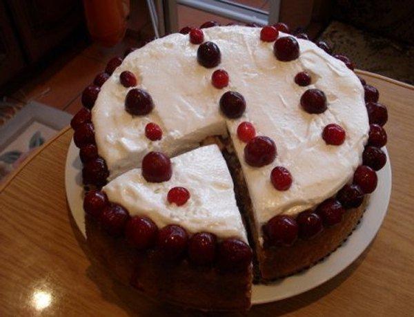 Яблочный пирог Шарлотка под снегом