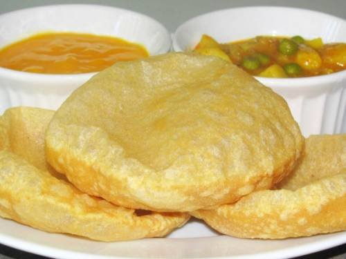 Индийские воздушные «Пури» / Простые рецепты