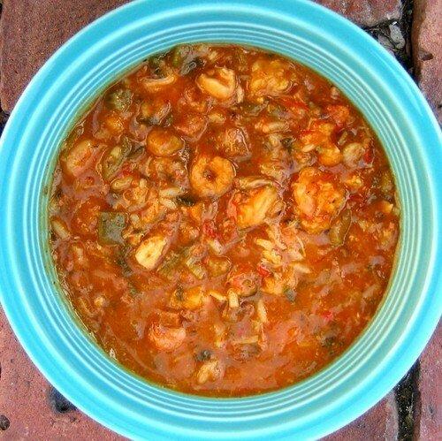 Курица с рисом и овощами по-креольски рецепт с фото