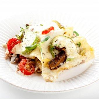 Лазанья с овощами, моцареллой Unagrande и телятиной - Рецепты с фото на vkusnovarka.ru