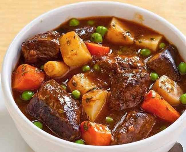 Мясо в горшочках быстрый рецепт с фото