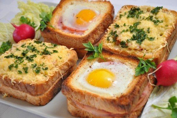 Необычные и вкусные бутерброды к завтраку / Surfingbird знает всё, что ты любишь