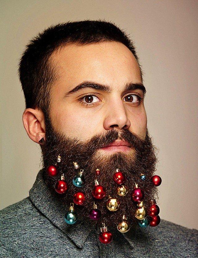 Новый год на бороде