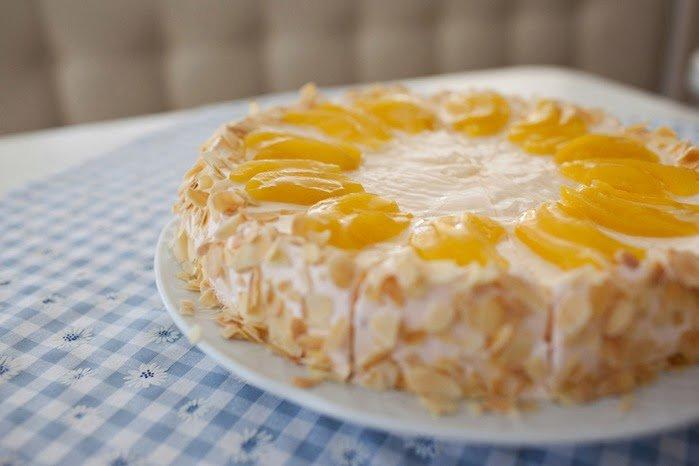 Оранжевое настроение торт