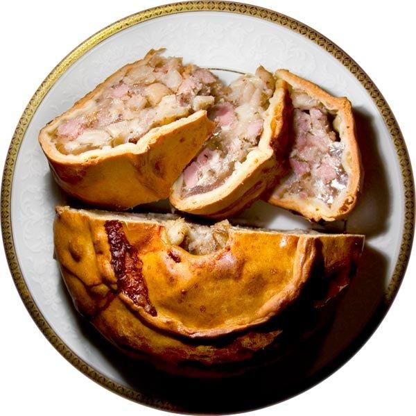 Пирог со свининой