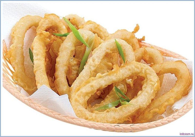 жареные кальмары кольцами рецепты с фото