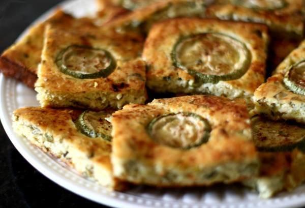 Рецепт Греческая запеканка из кабачков (Kourkouto). Приготовление   блюда