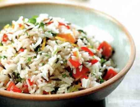 Рецепт индийского рисового салата