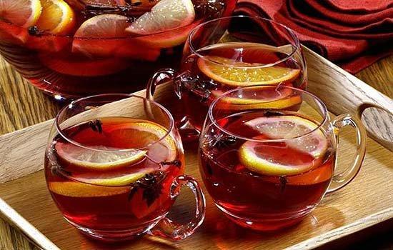 Рецепты согревающих напитков зимой Грог