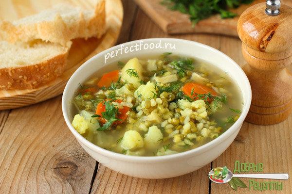 Суп из маш рецепт в мультиварки
