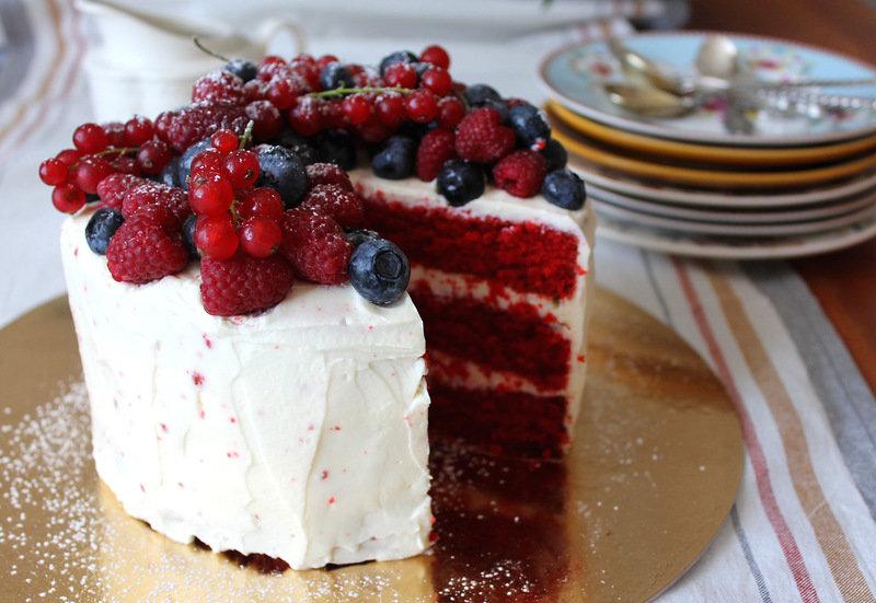 Пирог красный бархат рецепт пошагово 74