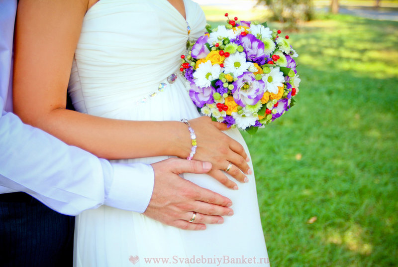 Беременная невеста фотосессия
