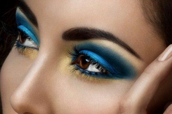 Лучшие тени для карих глаз