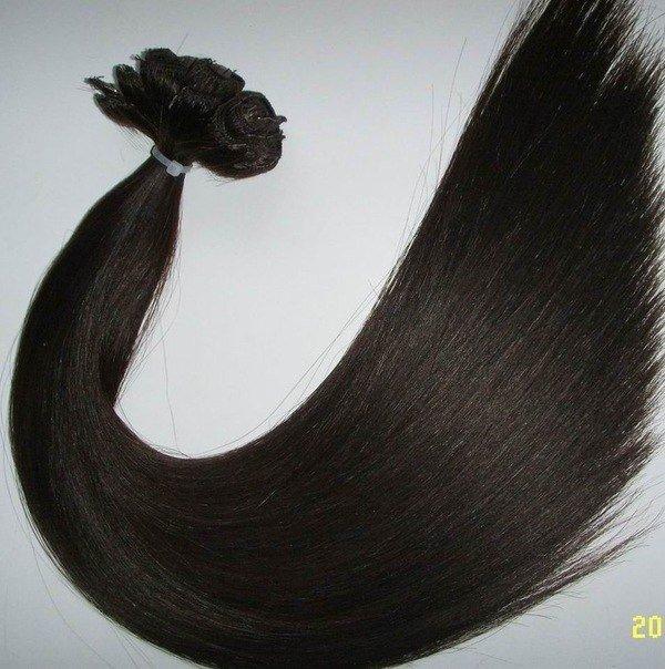 Натуральные волосы на заколках белгород