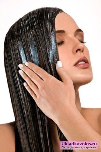 Тонкие окрашенные волосы