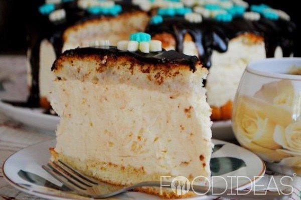 Рецепт низкокалорийного торта птичье молоко