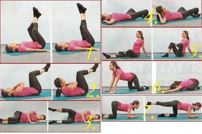 лучшие упражнения для похудения ног - програма, фото, видео.