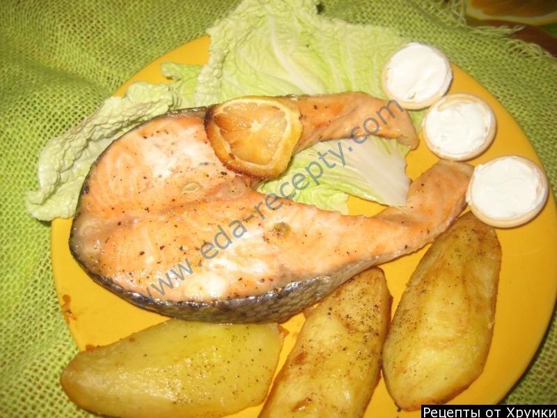 Семга в духовке рецепт с фото пошагово