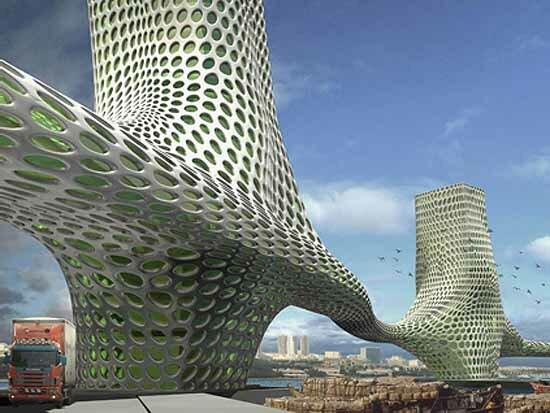 """Мост """"Три Грации"""" в Дубаи ... в современной архитектуре Арабских Эмиратов, но вот не станет ли он последним на годы вперед и не поставит ли точку в концептуальном строительстве, ..."""