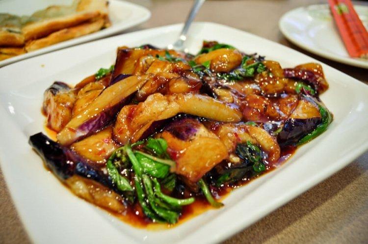 Баклажаны с овощами по китайски рецепт