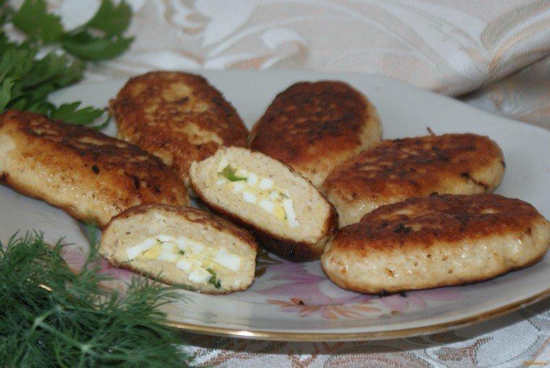 куриные зразы с яйцом и луком рецепт с фото