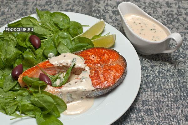 Сливочный соус для рыбы рецепт с фото