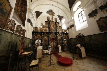 церковь троицы живоначальной в бехово внутри