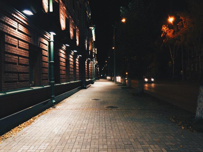 Немного ночного Томска