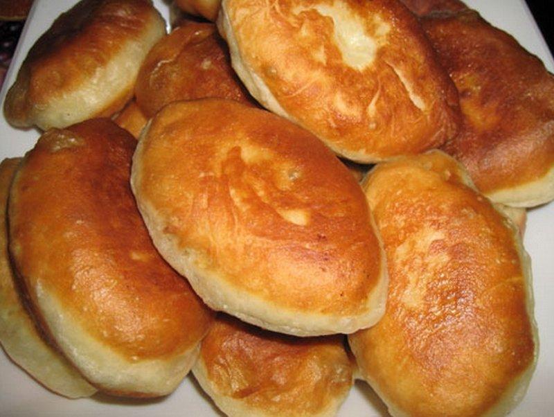 Пирожки со свежей капустой жареные