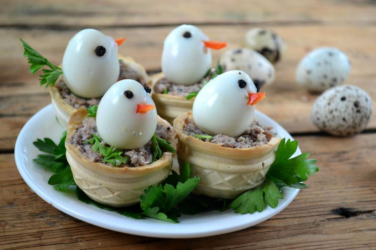 блюда из перепелиных яиц рецепты с фото которые