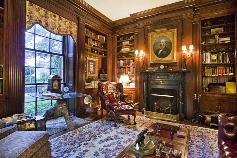 Викторианский дом интерьер,