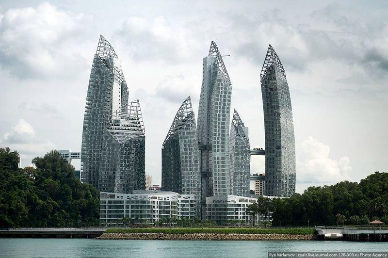 Жилой комплекс Reflections в Сингапуре