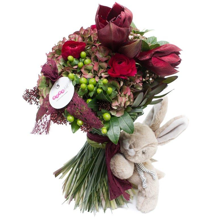 Цветы, дизайнерский букет с доставкой
