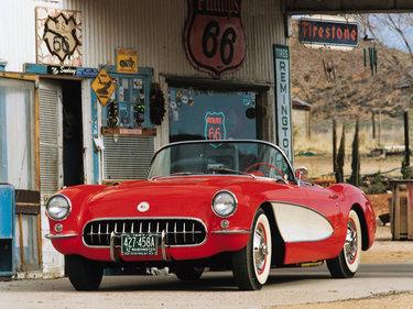 автомобиль корвет фото 1957