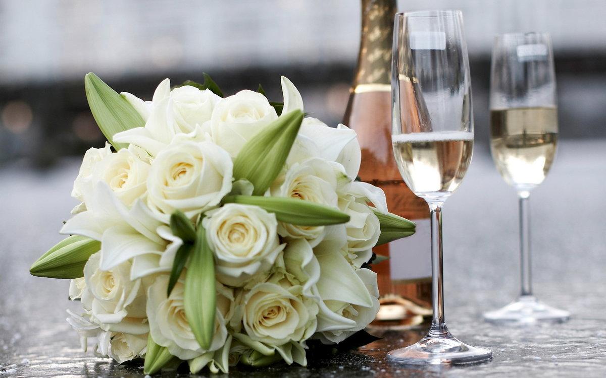Картинки с годовщиной свадьбы цветы