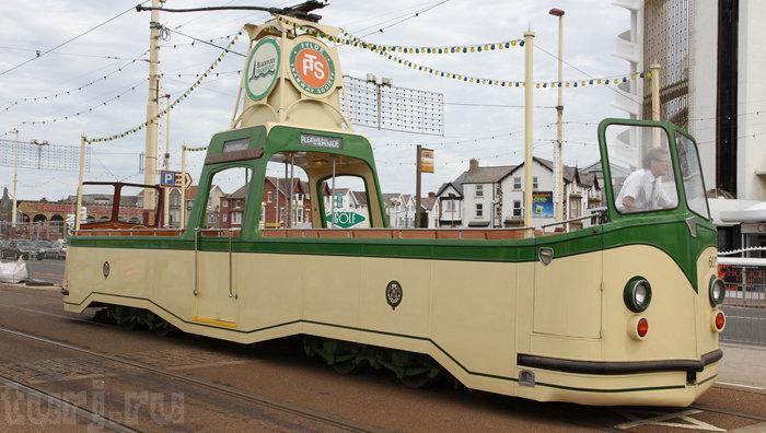 трамвай в Англии