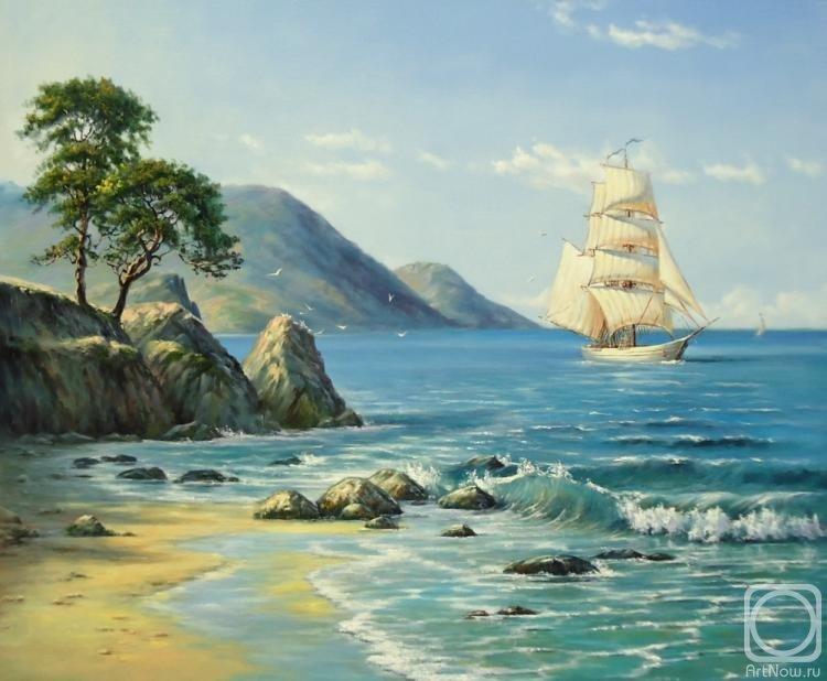 открытки художники о море вареников