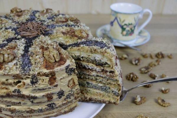 """Торт """"Дамский каприз"""":  Ингредиенты:... / Еда и напитки / вкуснятина / Pinme.ru"""