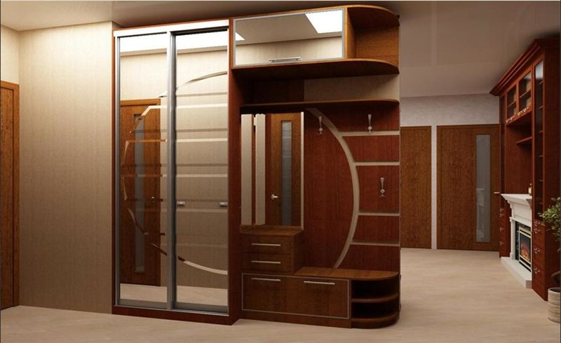 Встроенный шкаф купе в прихожую фото дизайн идеи своими руками