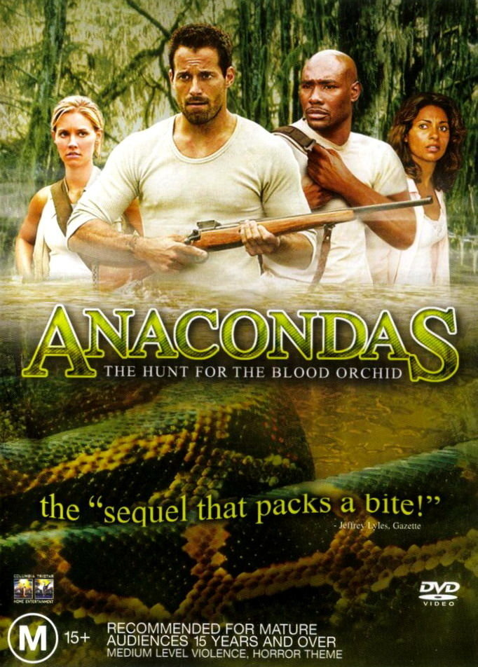 Anacondas The Hunt For The Blood Orchid (2004) 720p HDRip x264 [Dual Audio]