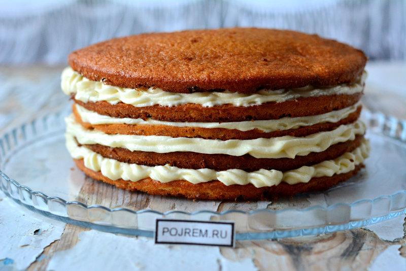 Простые коржи для торта рецепт с фото