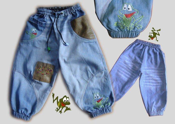 Шьем из старых джинсов для детей