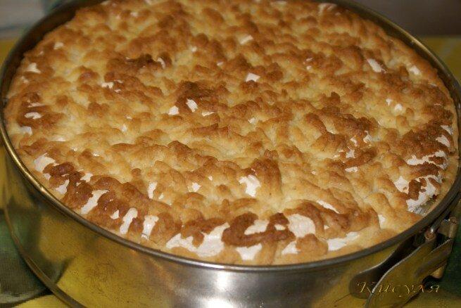 Песочный яблочный пирог рецепт с фото пошагово