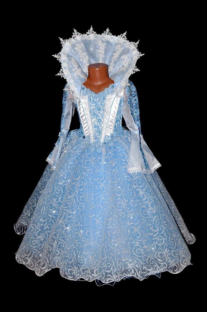 платье снежной королевы своими руками фото символы для