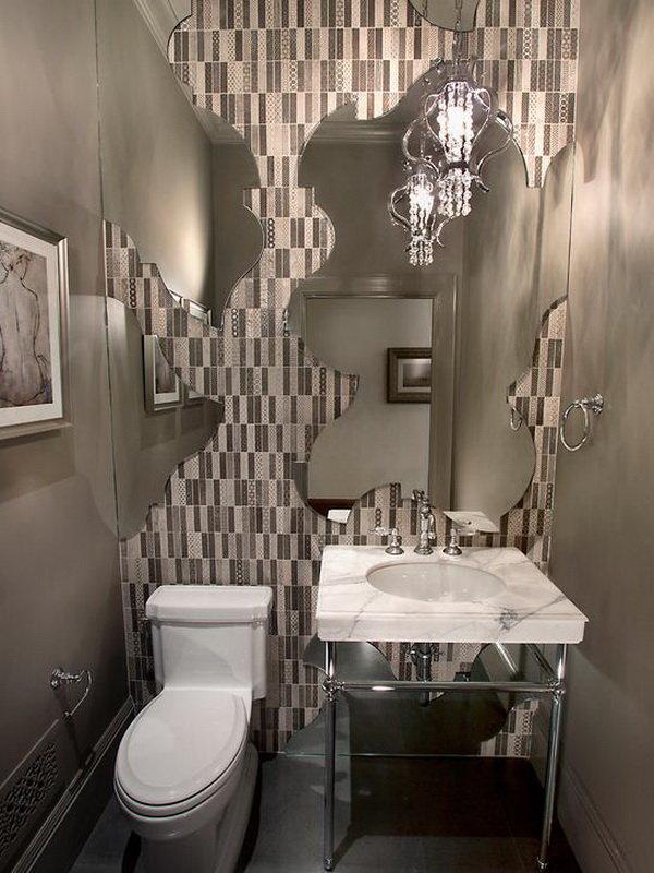 фото в туалете зеркало