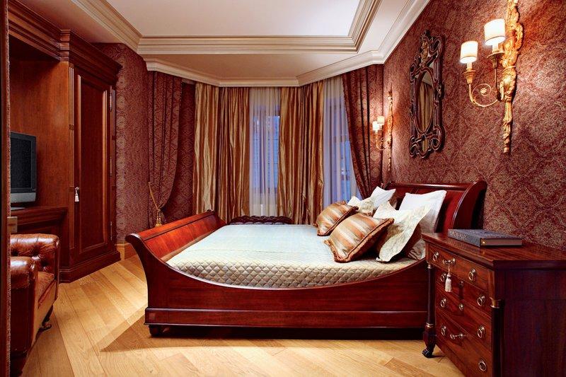 Как оформить спальню для мужчины Студия Happy Space