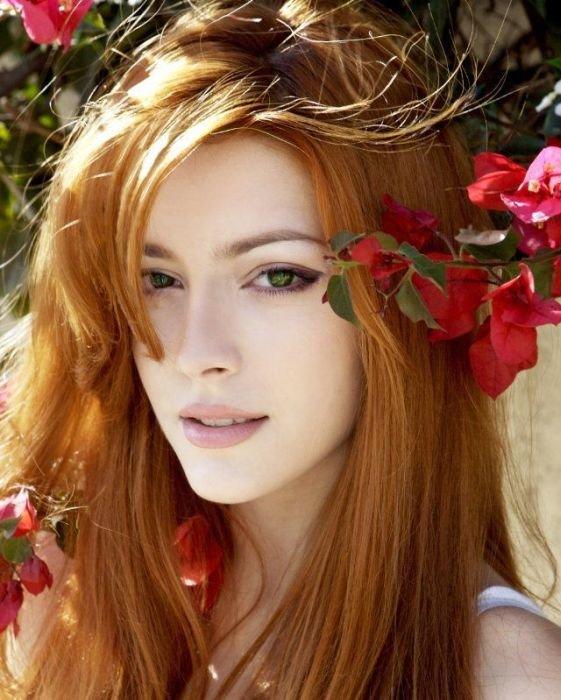 Каштановый цвет волос фото натуральный