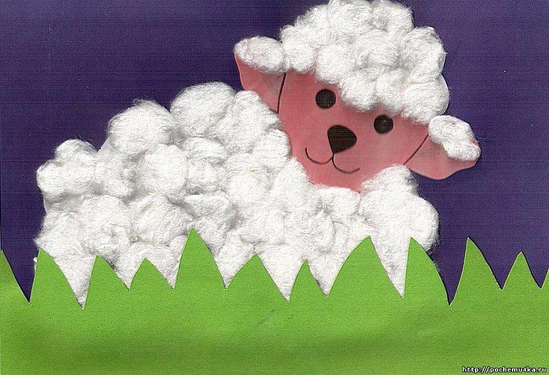 Как сделать овечку своими руками - Учебно-методический кабинет 27