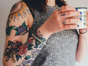 Татуировки в стиле олд скул